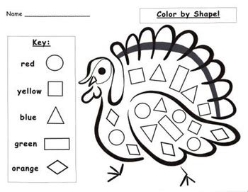 Thanksgiving Turkey Math Worksheets  Happy Easter & Thanksgiving 2018