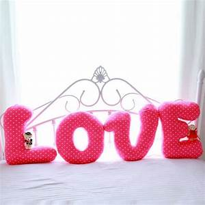 stuffed pillow letters promotion shop for promotional With stuffed pillow letters