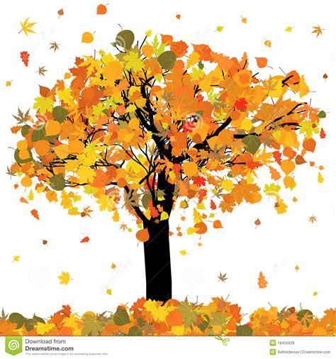 clipart autunno bello albero di autunno per il vostro disegno env 8