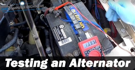testing  alternator carcomputerexchangecom