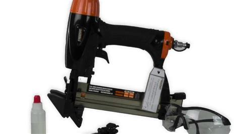 pneumatic flooring nailer vs manual freeman 4 in 1 mini pneumatic flooring nailer and stapler