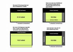 Ratio Berechnen : frage zu 16 9 und 21 9 format und leinwand selber bauen projektoren beamer hifi forum ~ Themetempest.com Abrechnung