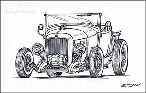 old school hot rod art 06 06 2008 0522 am dap of With 34 ford hot rod