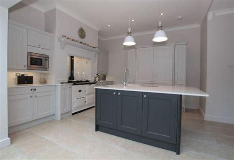 Kitchen Ideas For Remodeling - ashbourne light grey graphite island masterclass kitchens maison ooh la la pinterest