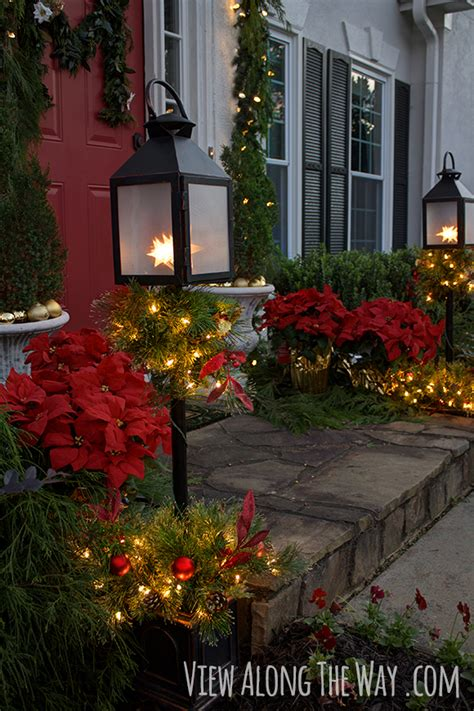 christmas porch  home depot challenge view