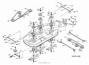 Dixon Ztr 427  1987  Parts Diagram For Mower Deck Assembly