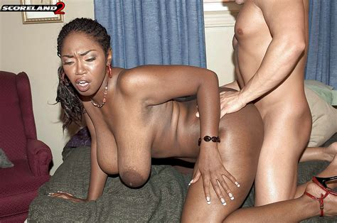 Black Milf Delotta Brown Giving Large Cock Titty Fuck