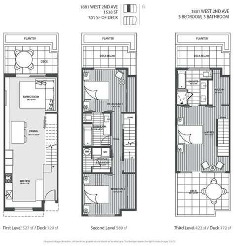 spectacular townhouse floor plans 1000 images about town house on modern