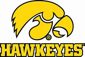 University of Iowa Wall Decals Hawkeyes Tigerhawk Decal Set
