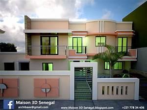 Modern House 3d In Senegal