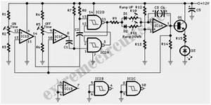 fine control super bright led pulser circuit diagram With super bright white led circuits uses a super bright white led circuits