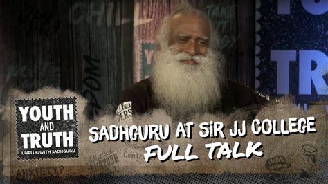 Sadhguru At Sir Jj College Of Architecture, Mumbai
