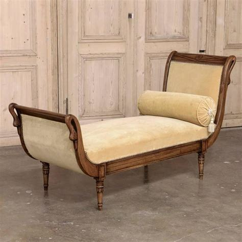 chaise directoire 19th century directoire style chaise longue for