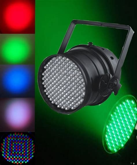 multi color led par can lights dmx par 64 l small stage