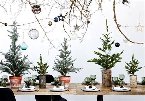 Une Décoration De Table De Noël Toute En Relief  Déco De