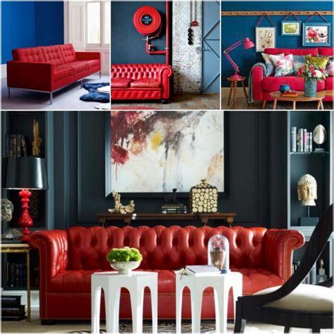 Quelle peinture quelle couleur autour d un canapé rouge