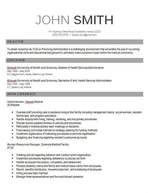 Contemporary Resume by Pin By Resumejob On Resume Modern Resume Format