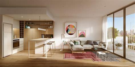 salon cuisine design mobilier table separation salon cuisine