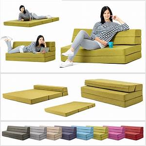Amellia fold out foam guest z bed 2 seater folding futon for Sectional sofa with fold out bed