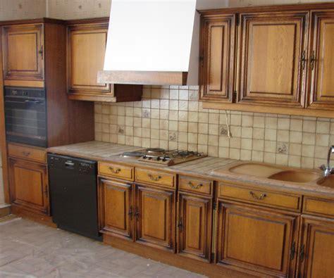 renover cuisine en chene renover une cuisine chene palzon com