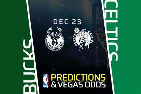 NBA: Bucks vs Celtics Prediction & Vegas Odds (Dec 23)