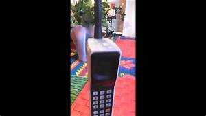Motorola DynaTAC 8000X - Worlds first handheld cell phone ...