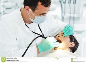 Dentist working stock photo. Image of dental, hygiene ...