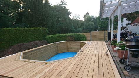 Swimmingpool Für Garten by Aufstellpool Holz Smartstore