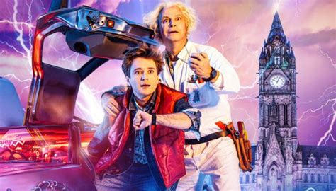 So it wasn't much of a risk anyway. Review: Back To The Future The Musical Manchester Opera House | Theatres Online