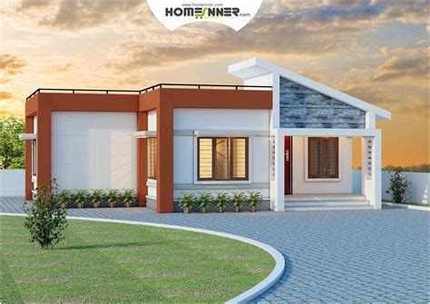 Low Cost Single Story House Plans