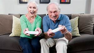 OAPs happier when they play video games finds research ...