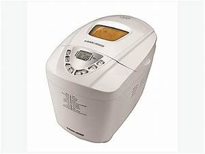 Black  U0026 Decker Delux Breadmaker
