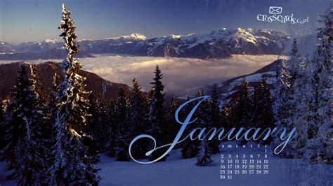 January Background January Wallpaper