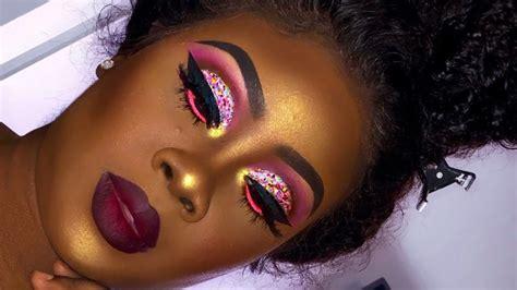 captivating makeup tutorials  dark skin