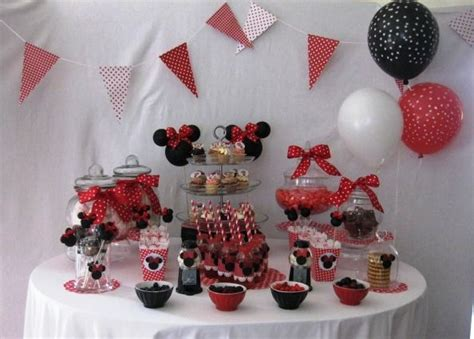 decoration anniversaire minnie  faire soi meme