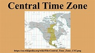 Central Time Zone - YouTube