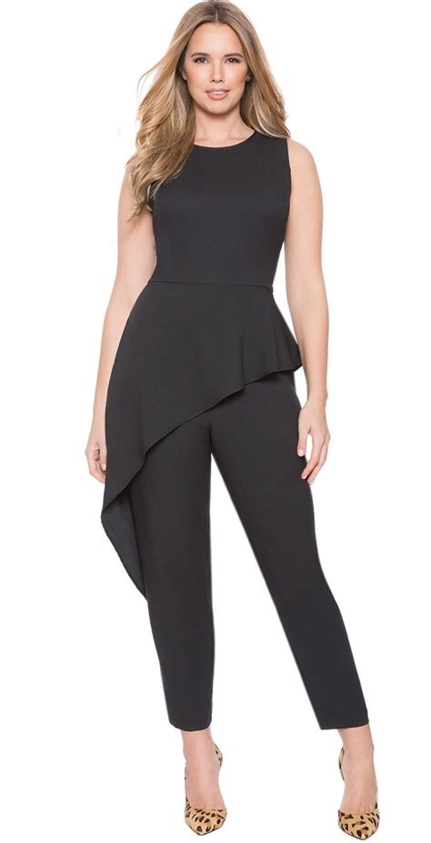 jumpsuit plus size best 25 plus size peplum ideas on plus size