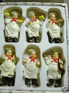 daliaswatches new 6 pc italian fat chef magnets kitchen