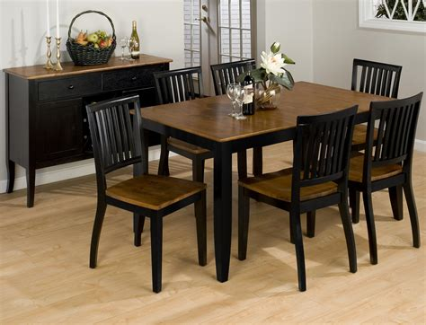 black dining room table and chairs furniture rectangle black wooden dining table with brown
