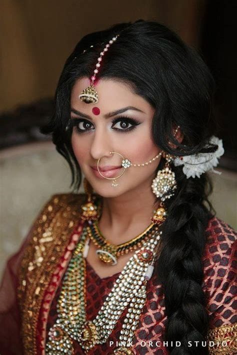 bridal hairstyles  hairstyles  indian brides
