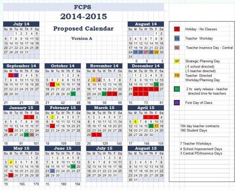 school calendar examined