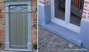 comment poser un seuil en pierre bleue With comment poser un seuil de porte