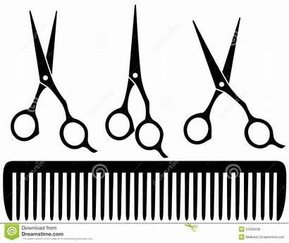 Scissors Hair Clipart Professional Clipartpanda Clip Comb