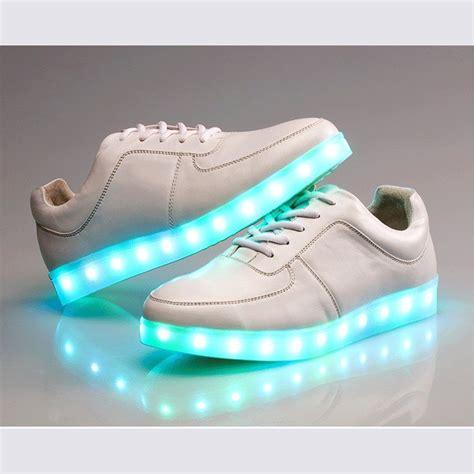 led light up sneakers zapatillas con luces led recargables ocompras