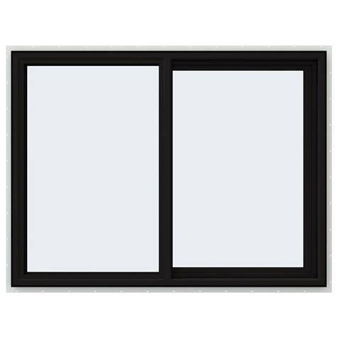 Ceiling Ideas For Kitchen - jeld wen 47 5 in x 35 5 in v 4500 series right hand sliding vinyl window black