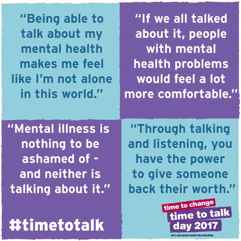 "Time To Change On Twitter ""it's #timetotalk Day A"