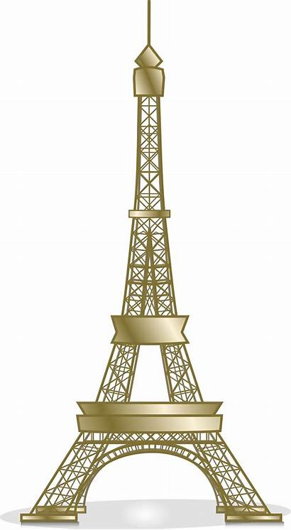 Tower Eiffel Svg Clipart Clip Icon Px