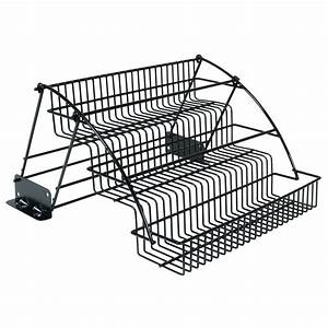 shop rubbermaid coated wire in cabinet spice rack at lowescom With what kind of paint to use on kitchen cabinets for credit card stickers