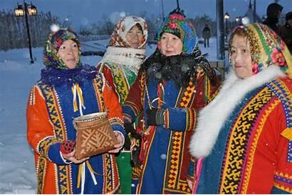 Indigenous Peoples Nenets Yamalo Barents Arctic Salekhard