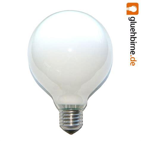 60w glühbirne lumen 1 x globe gl 252 hbirne 60w e27 opal g95 95mm globele